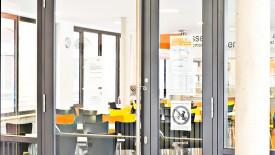 Edoors Produkte – Drehflügelnatriebe, Tür groß Nahansicht
