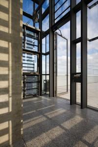 Edoors Produkte – Drehflügelnatriebe, Tür groß, offen