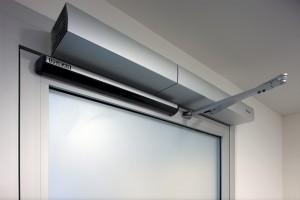Edoors Produkte – Verriegelungssysteme, GEZE Dregflügelantriebe Nahansicht