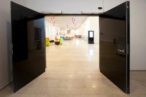 Edoors Produkte – Verriegelungssysteme, Tür beidseitig geöffnet