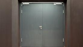 Edoors Produkte – Feststellanlagen, Tür geschlossen