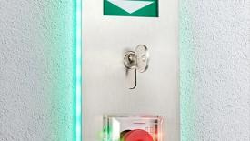 Edoors Produkte – Verriegelungssysteme, Notschalter beleuchtet