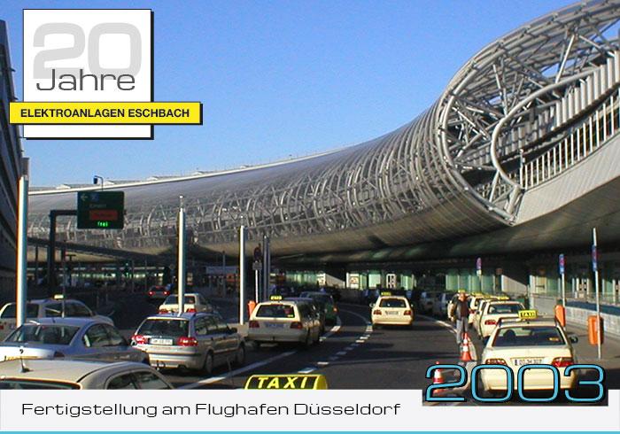 Fertigstellung am Flughafen Düsseldorf