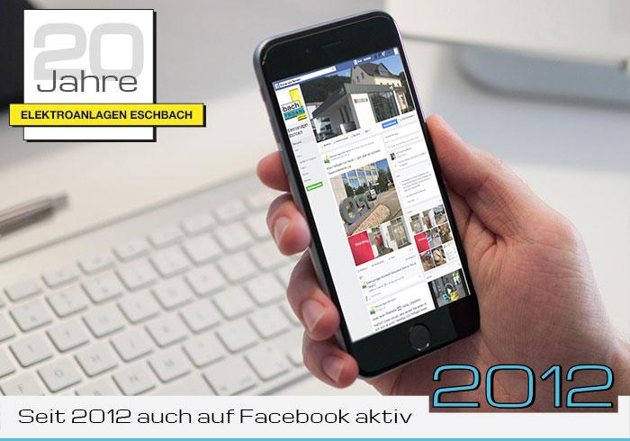 Seit 2012 auch auf Facebook aktiv